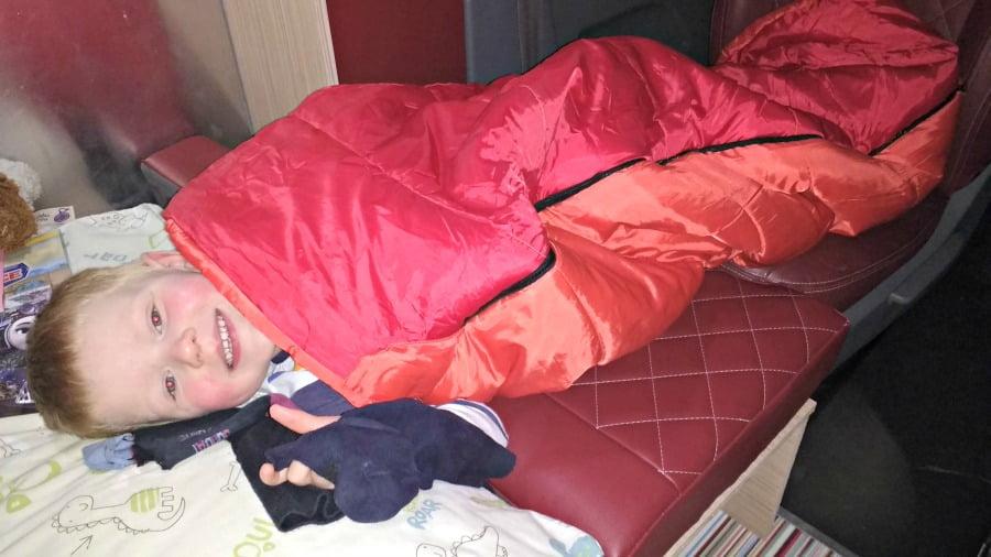 Toddler sleeping area
