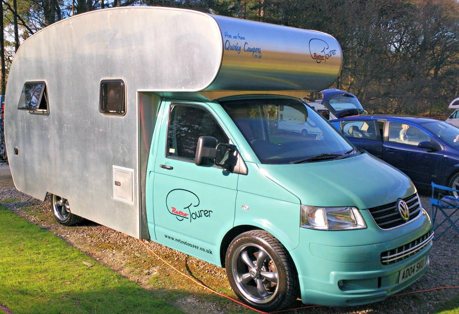 Sir James quirky camper
