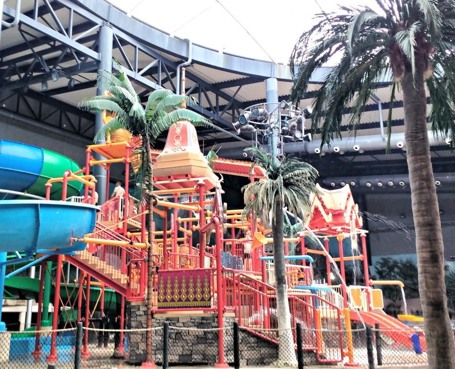 Splash Factory at the Aquadome at Lalandia
