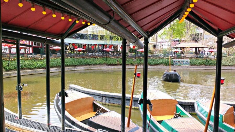 Boat rides at the Tivoli Gardens