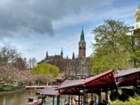 The Tivoli Gardens with toddlers
