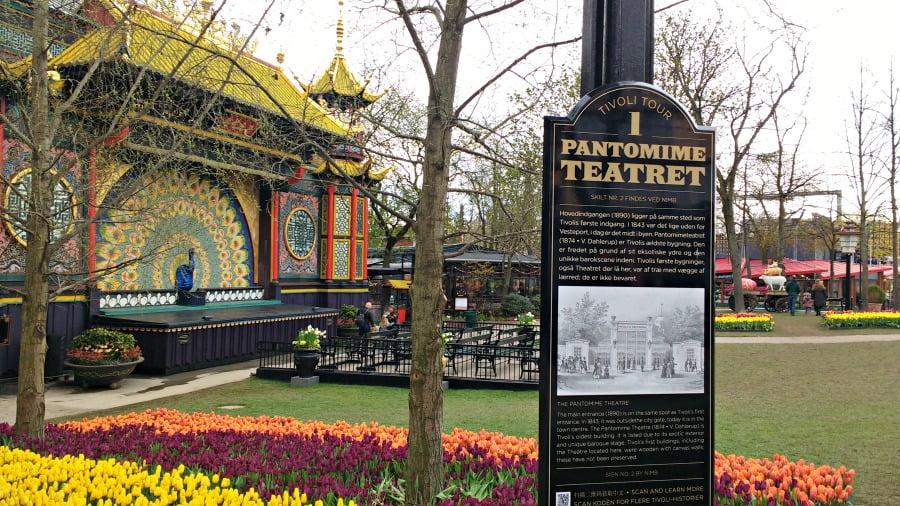Entertainment at the Tivoli Gardens