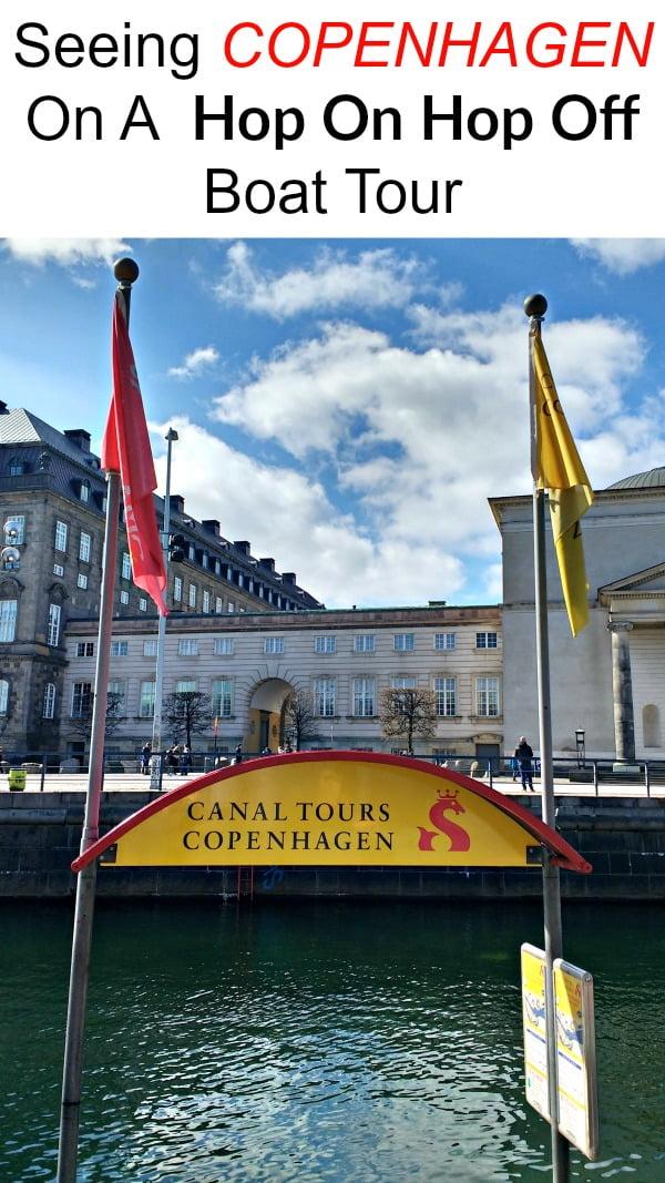 Seeing Copenhagen On a Hop on hop off boat tour