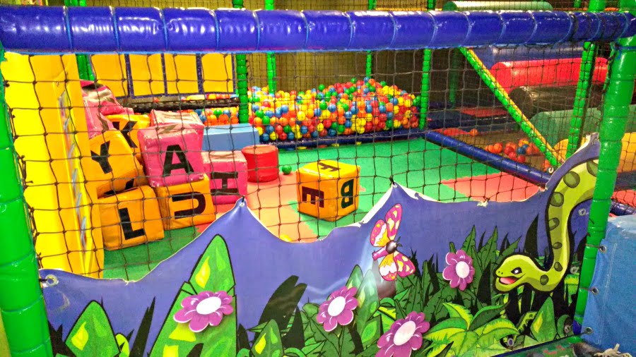 Baby area at Monky Tonky soft play