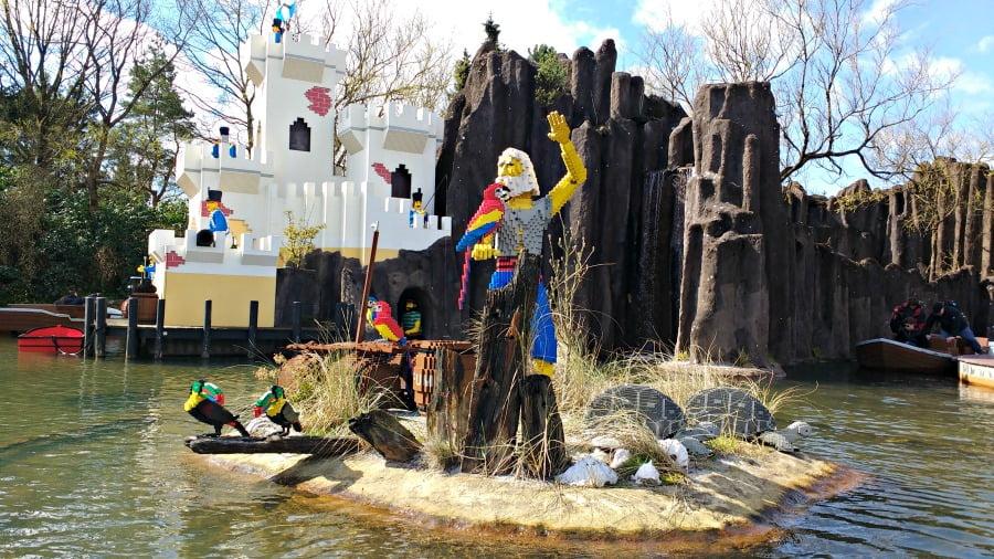 Pirate Land at Legoland Billund