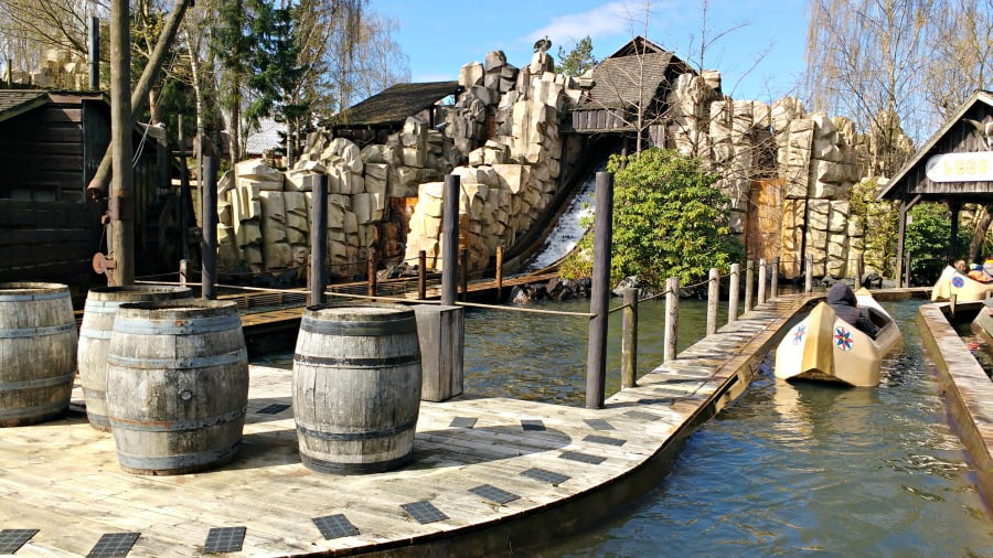 Log Flume at Legoland Billund