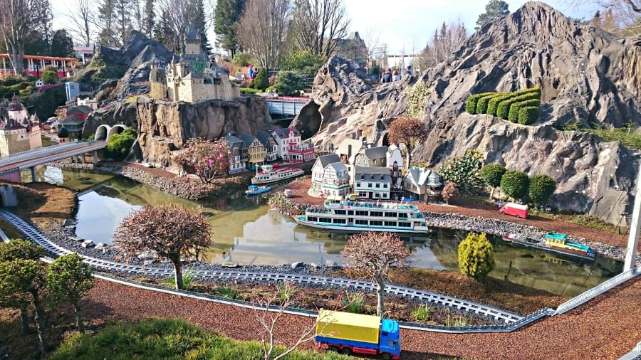 Miniland at Legoland Billund