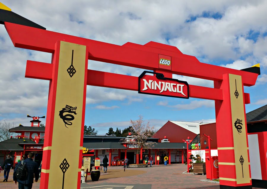Ningjago Land at Legoland Billund