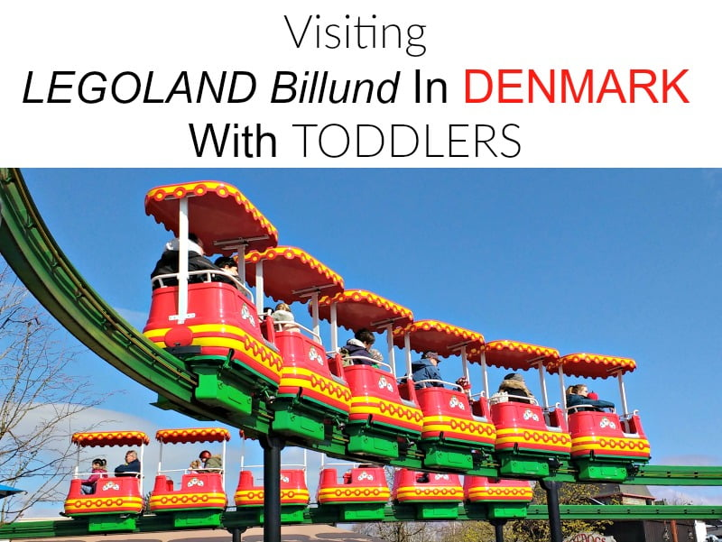 Visiting Legoland Billund with toddlers