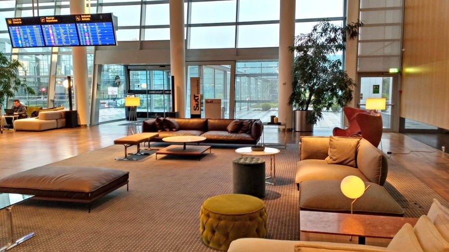 Reception at the Clarion Hotel Copenhagen Airport