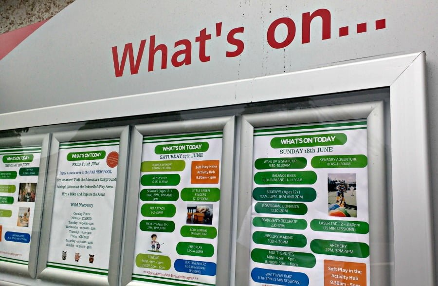 What's on at Ribby Hall Village