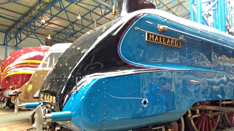 The Mallard at the National Railway Museum