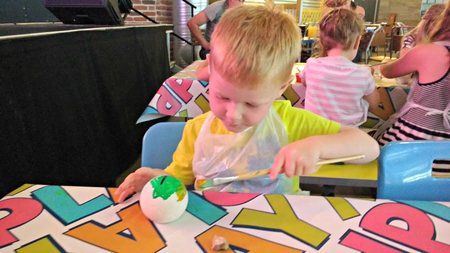 Pottery Painting at Tattershall Lakes