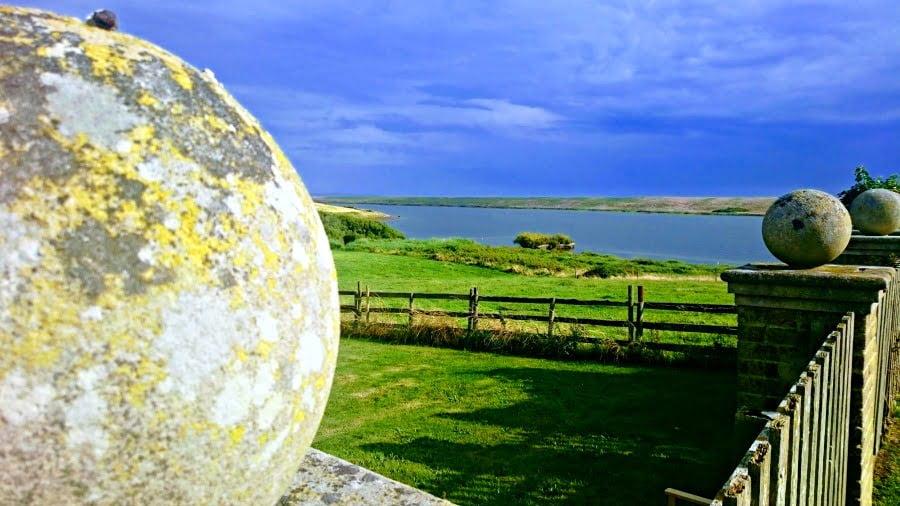 View from Moonfleet Manor in Dorset