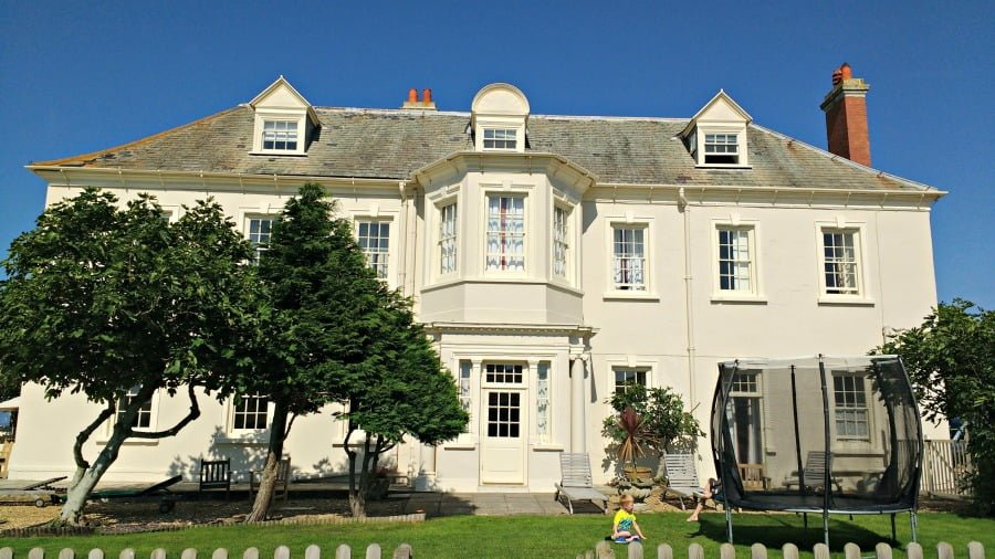 Moonfleet Manor - luxury baby and toddler friendly hotel in Dorset