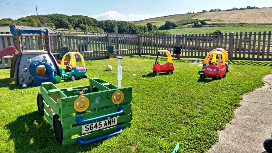Ride On Toys at Moonfleet Manor in Dorset