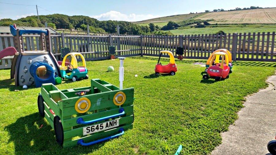 Ride On Toys at Moonfleet Manor in Dorset