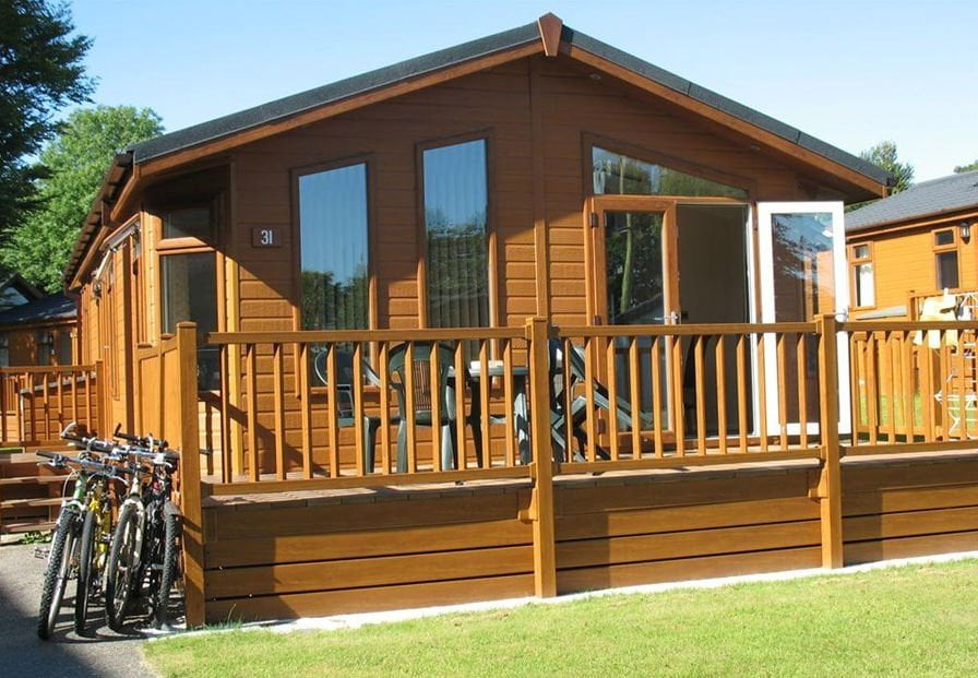 Hoburne Doublebois - baby and toddler friendly lodge in Cornwall