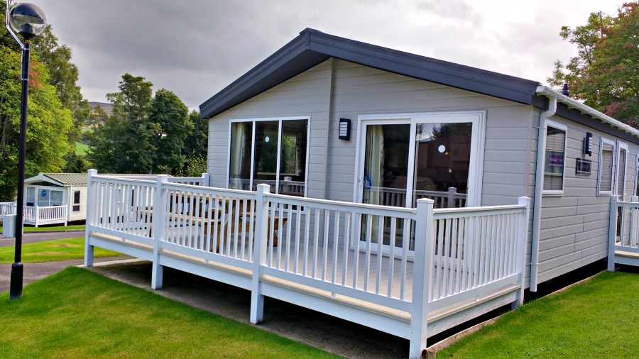 Deluxe Lodge at Heather View Holiday Park