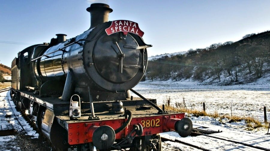 Llangollen Railway at Christmas