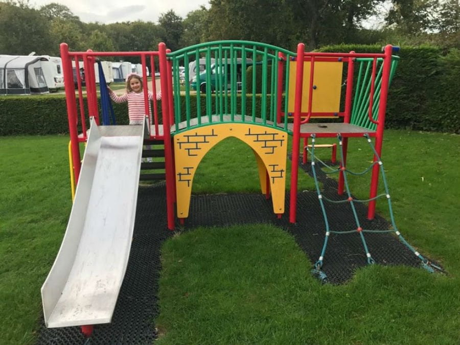 Playground at Oakdown Holiday Park