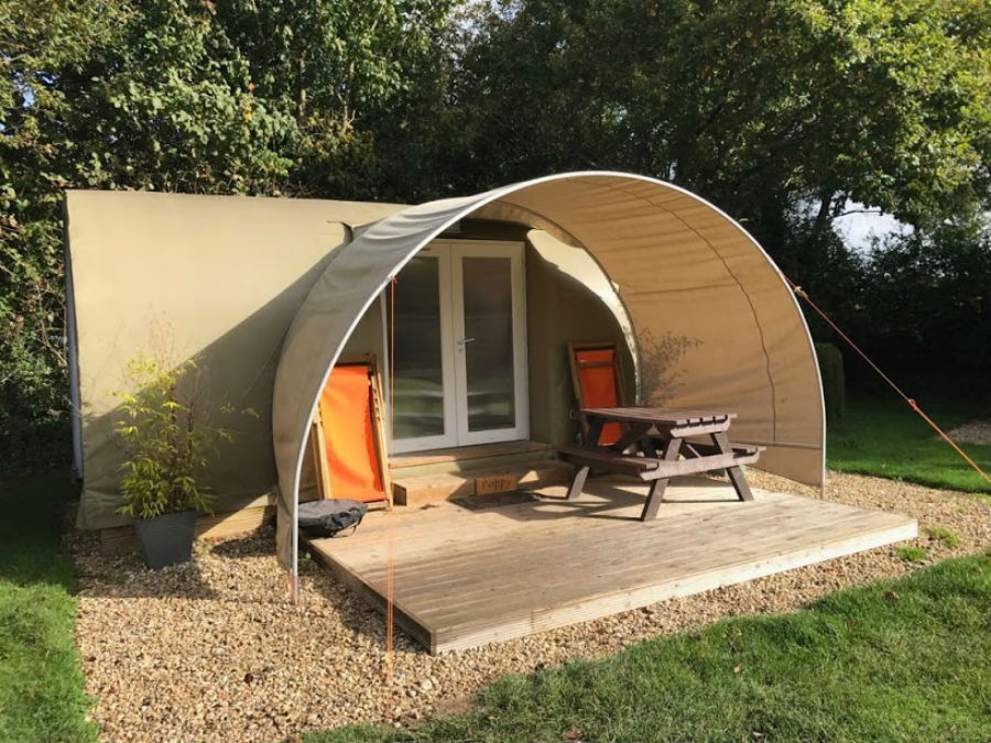 Premier Pod at Oakdown Holiday Park