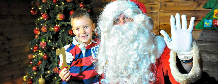 Santa Spectacular at Willow Adventure Farm - place to take a toddler to see Father Christmas