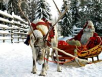 Santas Lapland - the best place to take a toddler to see Santa