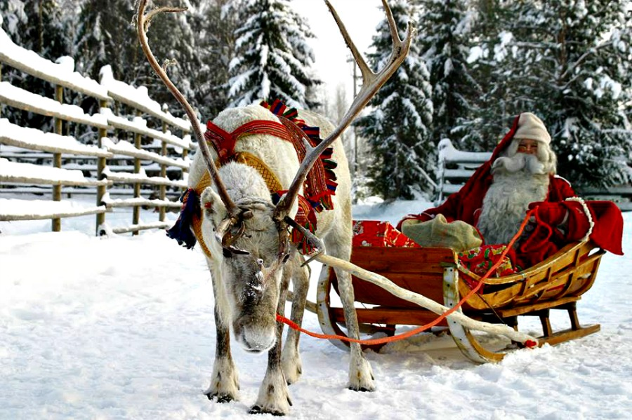 82c4518231 Santas Lapland - the best place to take a toddler to see Santa