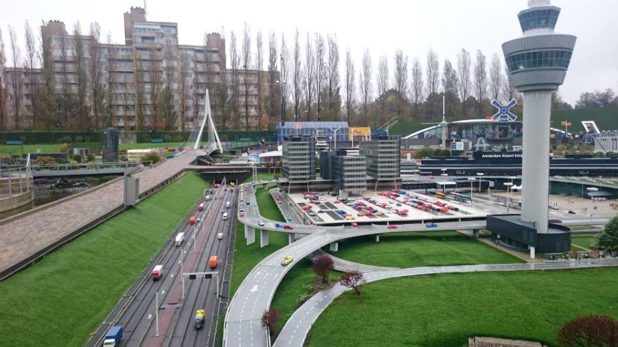 Amsterdam Airport at Madurodam