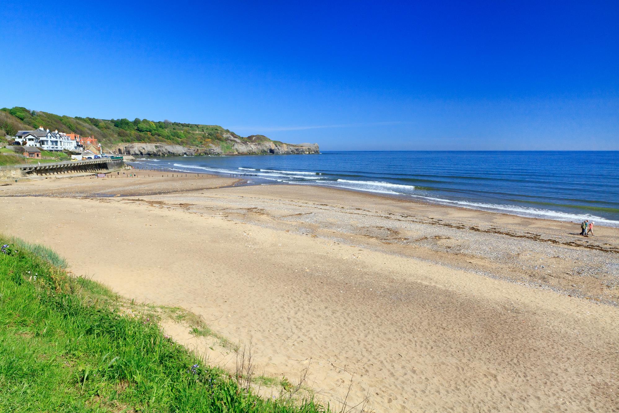Sandsend - yorkshire coast for toddlers