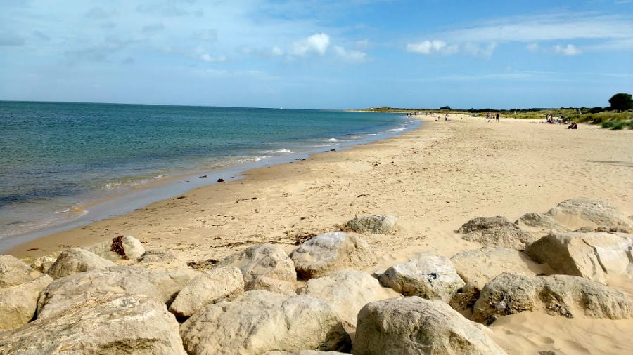 Studland Bay - toddler friendly beach in Dorset