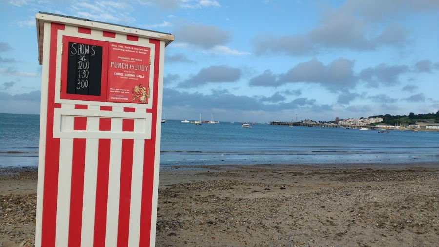 Punch and Judy at Swanage