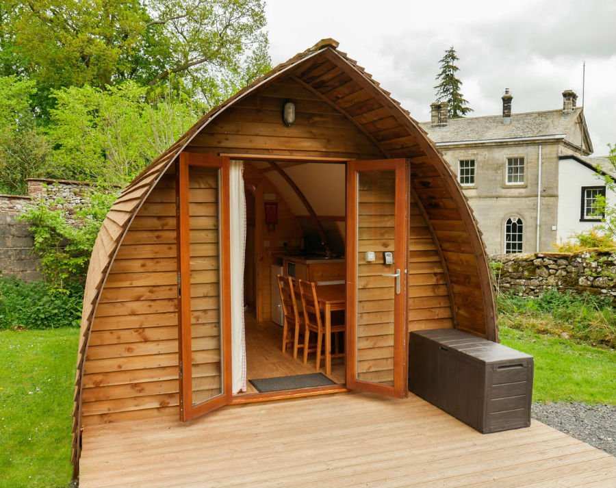 Waterfoot Park - family friendly wigwams in the Lake District