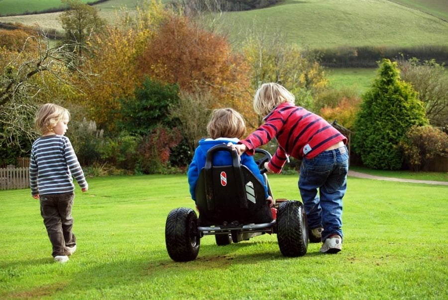 holidays for babies and toddlers in devon