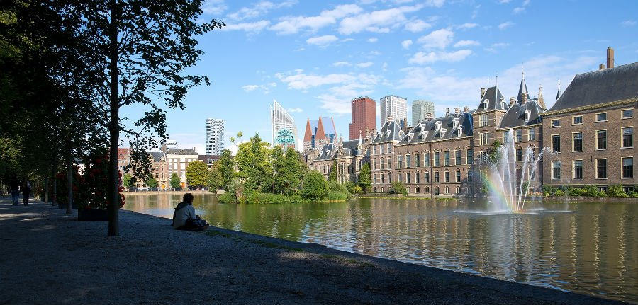 The Hague with toddlers
