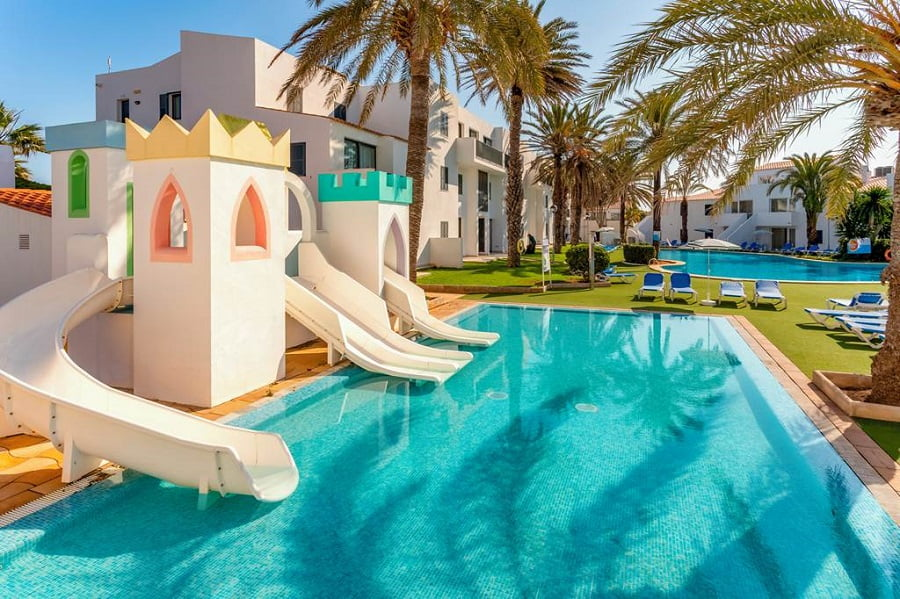 baby and toddler friendly place to stay in menorca