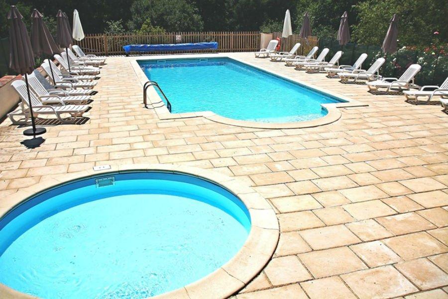 Swimming pool at Pagel