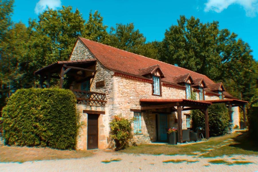 The Grange at Pagel Gites in France