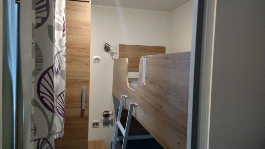 Bunk Bedroom in Eurocamp Avant