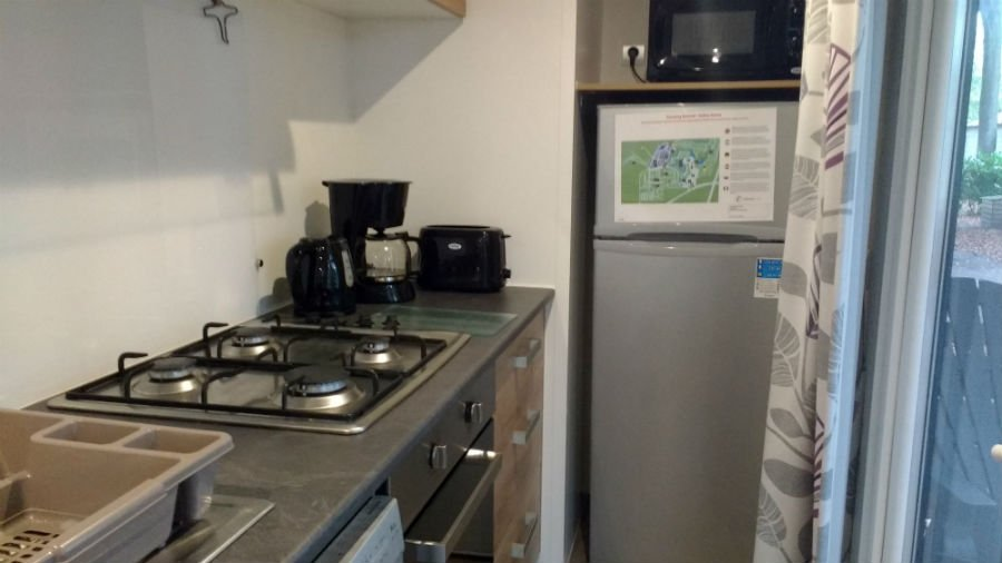 Kitchen In An Avant Caravan
