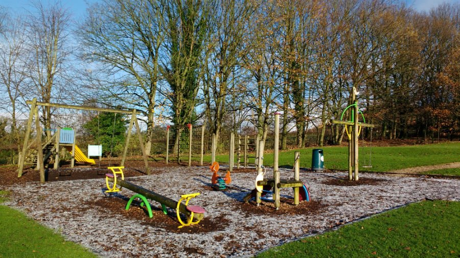 Playground at Sandybrook Country Park