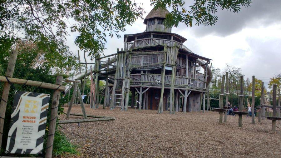 Playground at Rotterdam Zoo