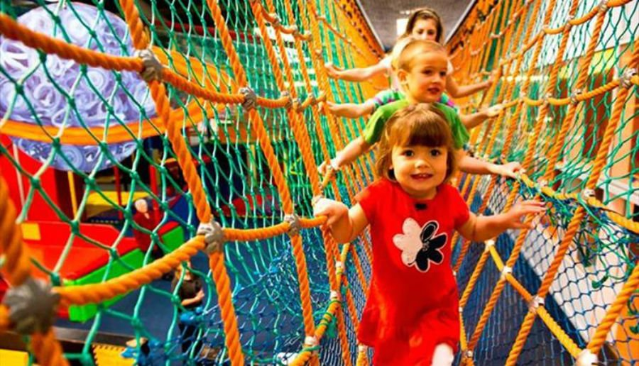 Crealys Cornwall - theme park for toddlers