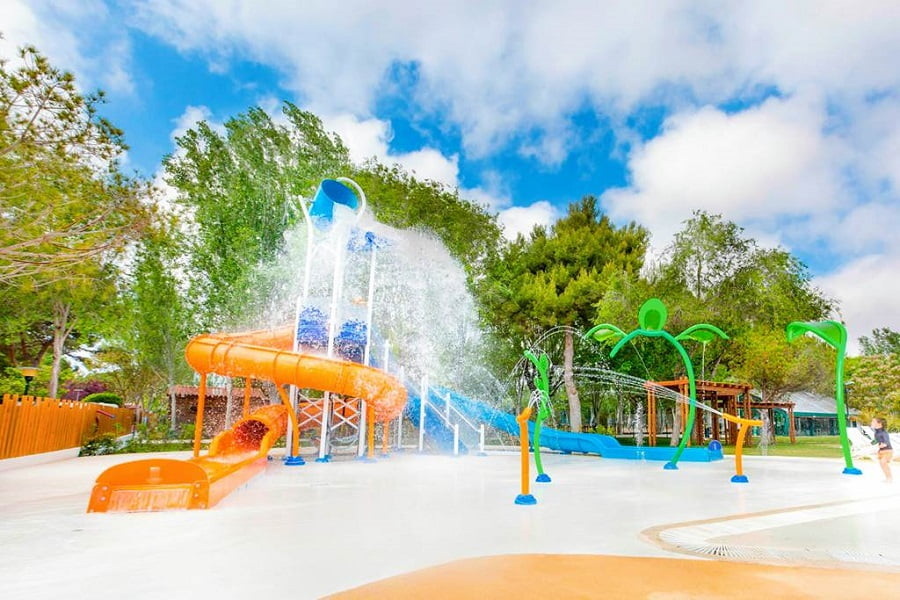 campsite for babies and toddlers in spain