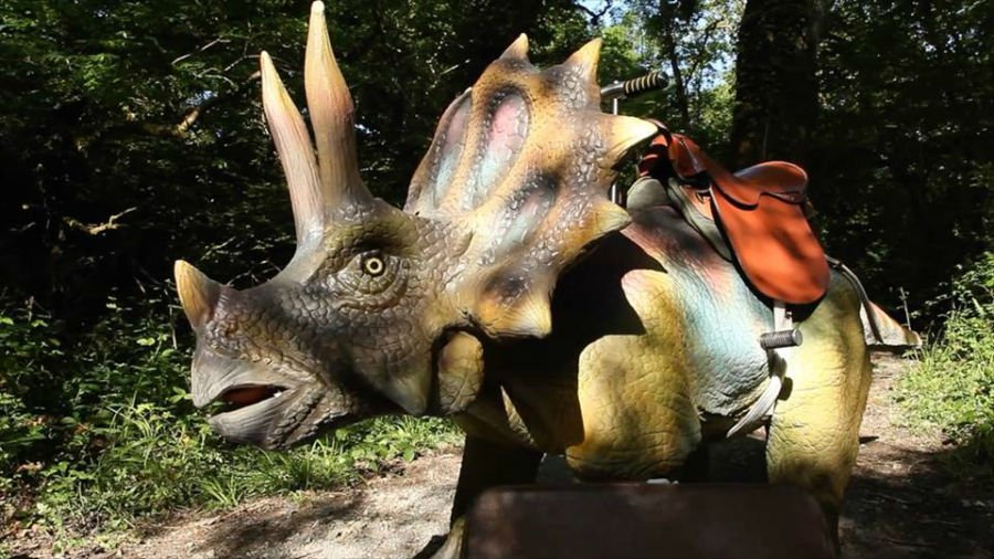Dinosaur attractions for toddlers