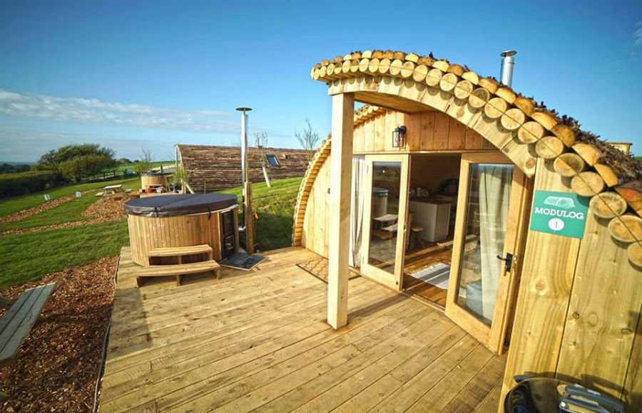 Tom's Eco Lodge - baby and toddler friendly place to stay in the isle of wight
