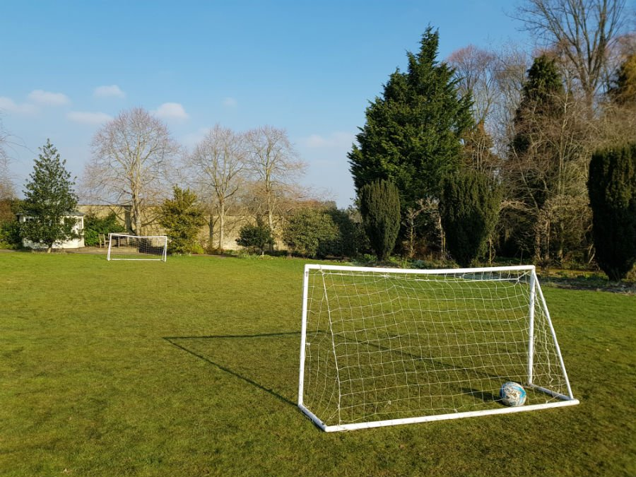 Playing field at Bruern Cottages