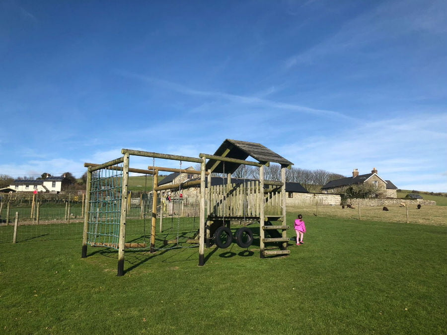 Play areas at Nettlecombe Farm
