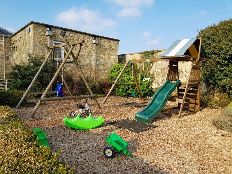 Playground at Bruern Cottages